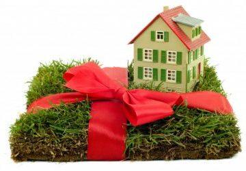 Как подарить земельный участок