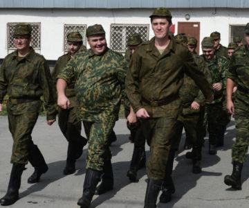 Призыв запасников на военные сборы в 2020 году